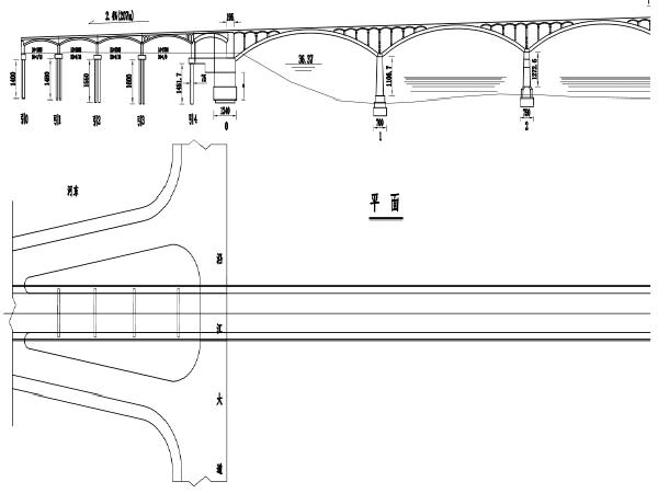 [湖南]双曲拱桥提质改造工程两阶段施工图设计