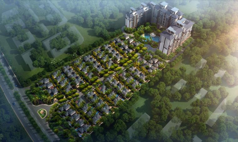 [海南]东南亚风格居住区规划设计方案文本(PDF)