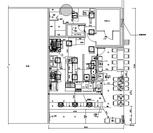 汉堡王厦门机场T3航站楼店施工图&预算&结算&设计相关
