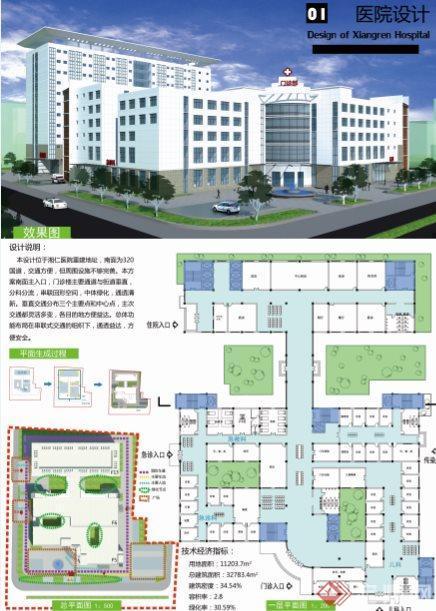 中心医院设计第1张图片