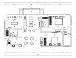 【江苏】美式风格A户型样板房设计施工图(附效果图)