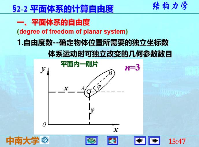 结构力学李廉锟版-平面体系的机动分析_4