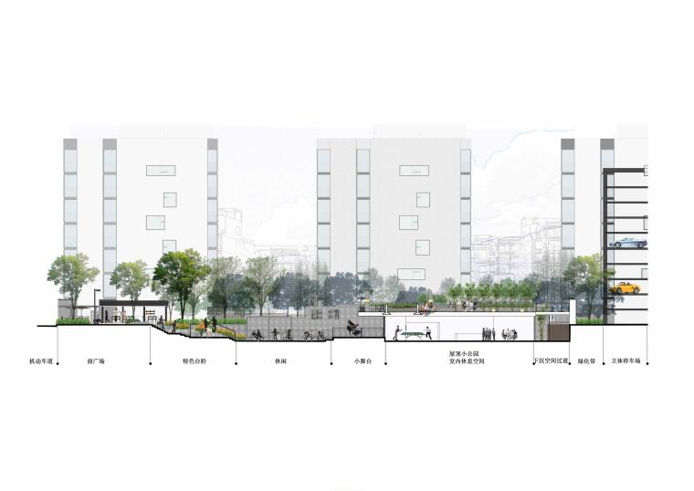 社区改造下沉广场景观方案设计文本(SU模型)_4