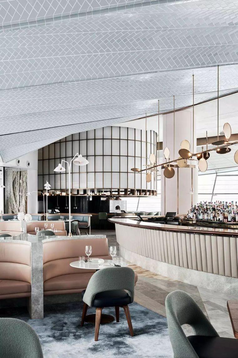 迪拜地标旁的2000平米超大餐厅,精致细节成就奢华设计_9