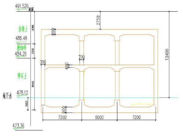 成都地铁科华南路站结构设计(98页)
