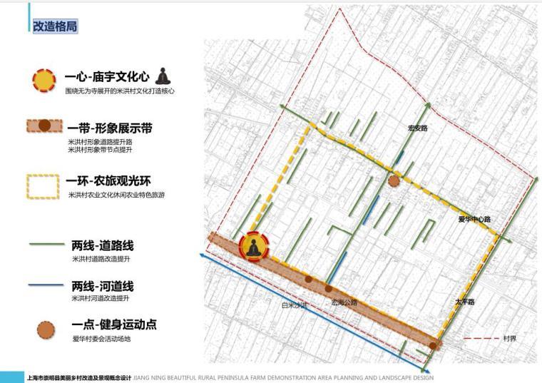 [上海]某村庄改造规划及景观设计方案设计文本_9