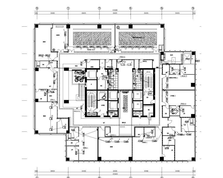 [江苏]南通大型国贸中心37层电气设计图纸(含各种弱电系统)_8