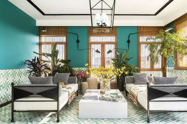 跃层都市公寓融入4种风格后,竟然如此惊艳!_35
