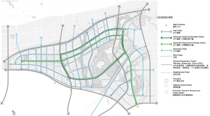 """[海南]""""产城融合""""生态海洋高新技术产业园区城市景观规划设计方案_10"""