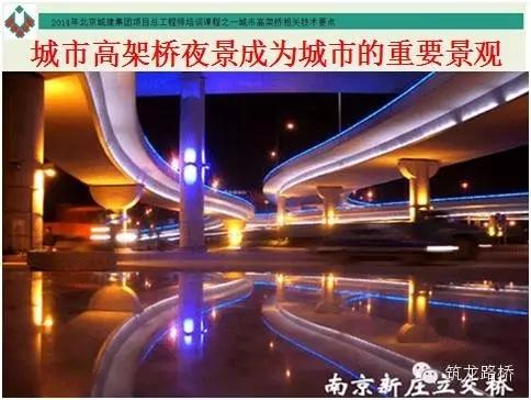 城市高架桥夜景照明问题研究