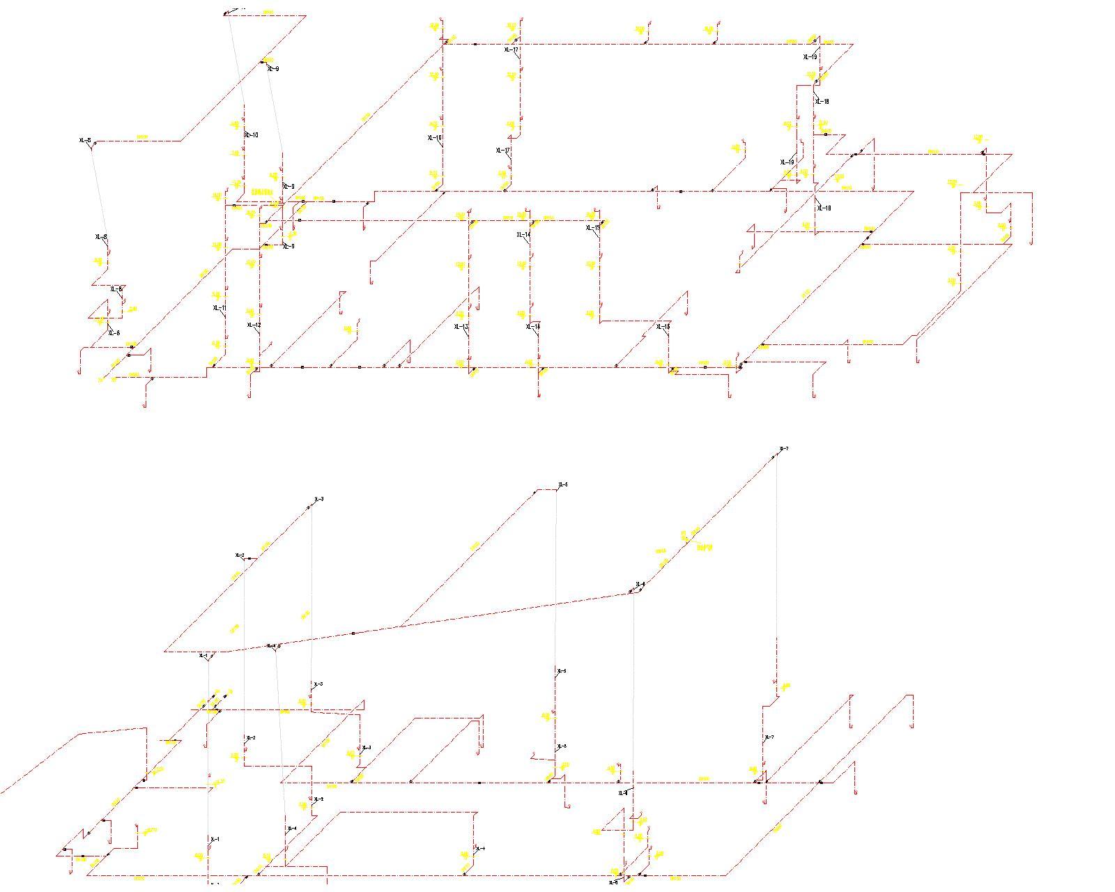 [安徽]古生物化石馆给排水全套图纸(给水系统、排水系统、消防系统)_6