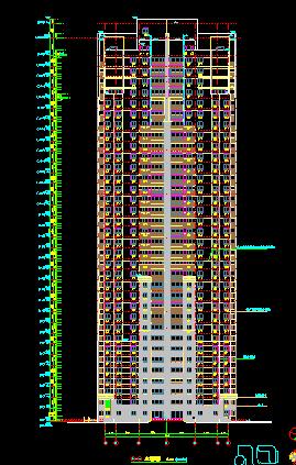 华东设计院——超高层清真寺归档施工图