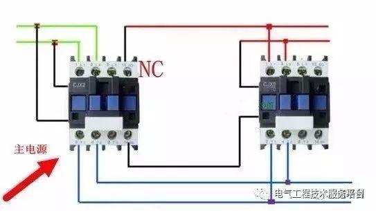 [电气技术]双电源自动切换电路原理及原理图
