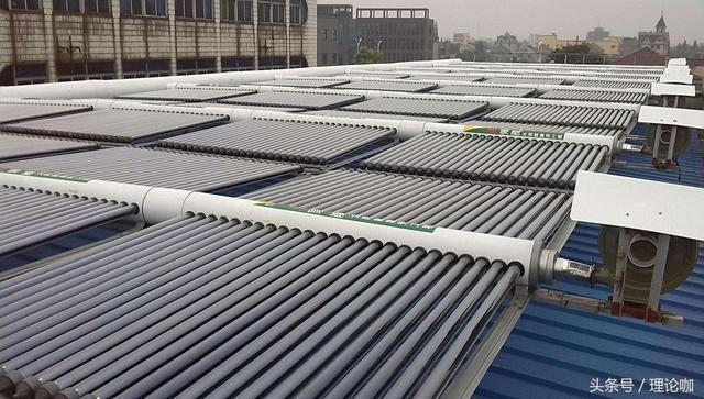 五星级酒店的太阳能热水系统原理揭秘