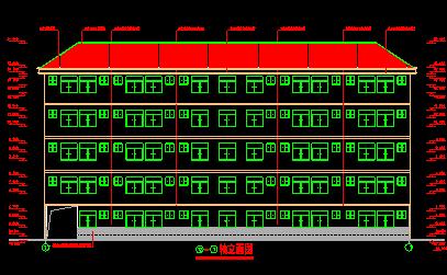 某中学学生公寓全套施工图
