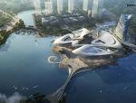 [江苏]不可错过行云流水般镇江艺术中心建筑设计