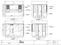 成都高山流水现代风格住宅室内设计施工图