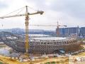 """中建钢构建了座装配式钢结构""""金元宝"""" 外形酷似鸟巢"""
