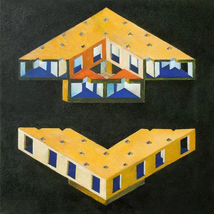 这个智利建筑事务所设计房子,几乎像是一场方形、圆形或其他元素_28