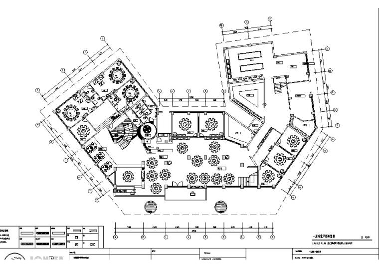 [南充]中式风酒楼设计施工图(含效果图)