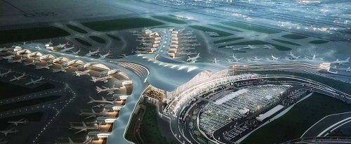 某国际机场BIM应用案例