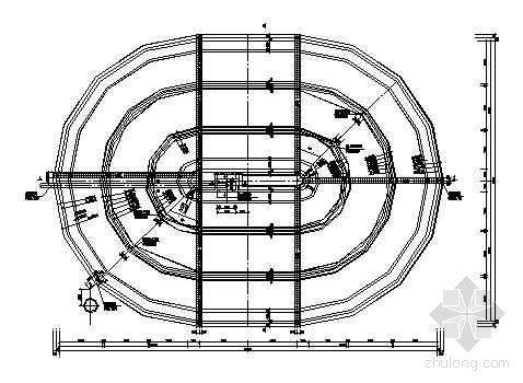 某氧化沟结构图纸
