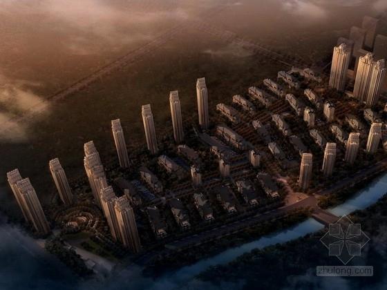 [沈阳]某artdeco风格高档居住区规划方案文本