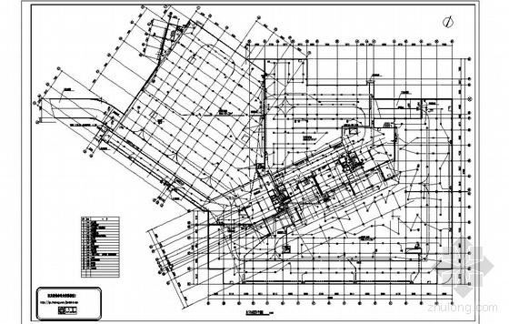 某大型地下车库消防平面图