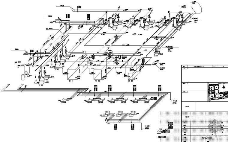 某站房空调系统毕业设计图纸