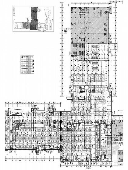 医院建筑群施工图设计资料下载-[广东]某人民医院建筑群电气全套施工图纸362张