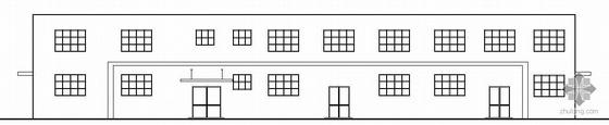 [青岛]某工业园物流厂房建筑结构水电施工图