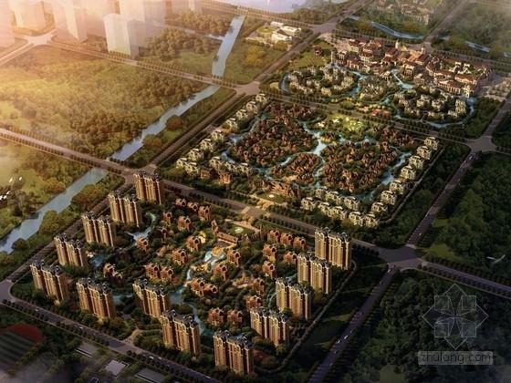 [河南]新乡居住区、商业区规划方案文本(知名地产)