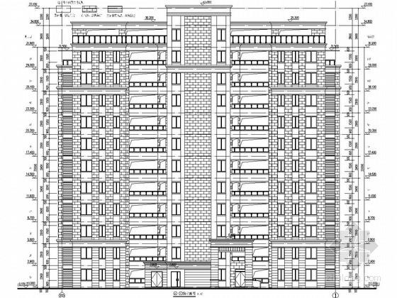 [安徽]11层剪力墙结构宿舍楼建筑结构施工图(桩基础)