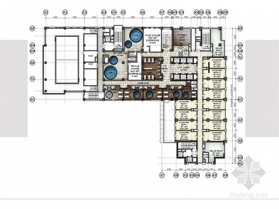 [西安]国际连锁现代豪华商务酒店概念设计方案