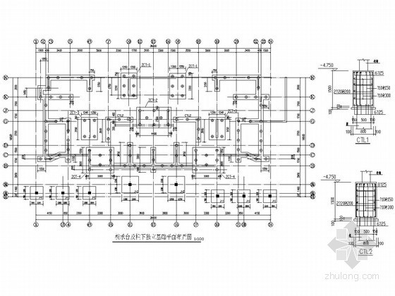 安徽30层剪力墙结构高层住宅楼结构施工图