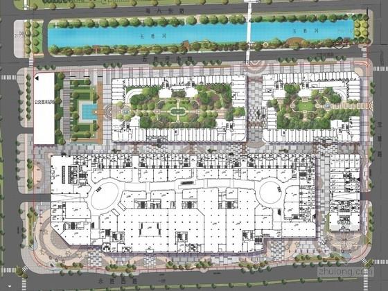 [广东]现代化都市商业广场景观规划设计方案