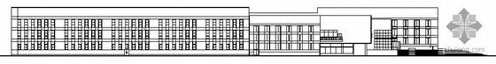 某大学二层体育馆建筑施工图