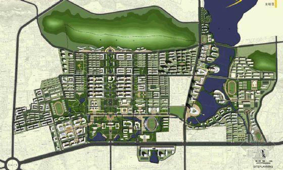 华中科大校园概念规划方案