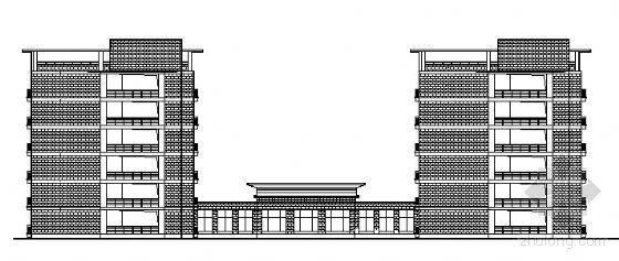 漯河中学新建校区六层宿舍楼建筑结构水电施工图