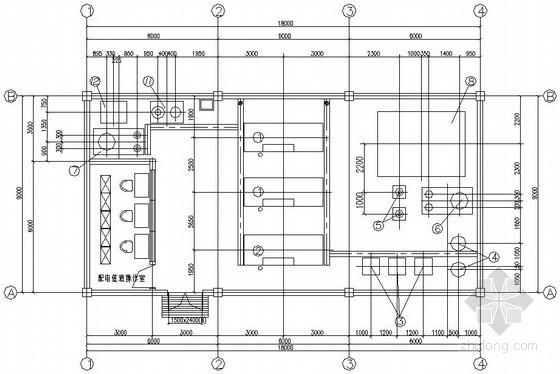[北京]水源热泵机房设计施工图