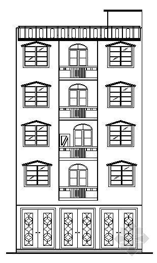 某五层私人住宅建筑施工图