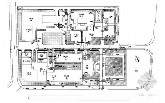[宁波]某电子厂厂房给排水、消防设计竣工图纸