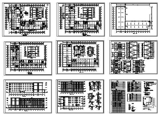四层小型酒店建筑施工图-4