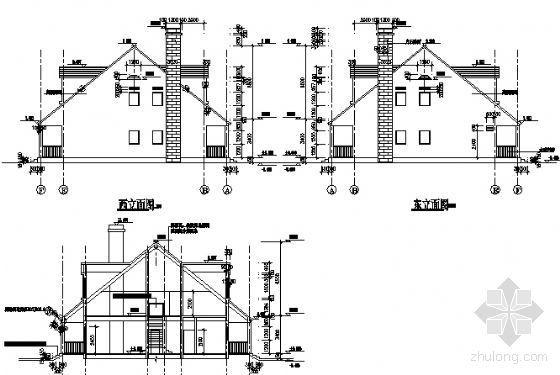 某二层别墅(A型)建筑方案图-2