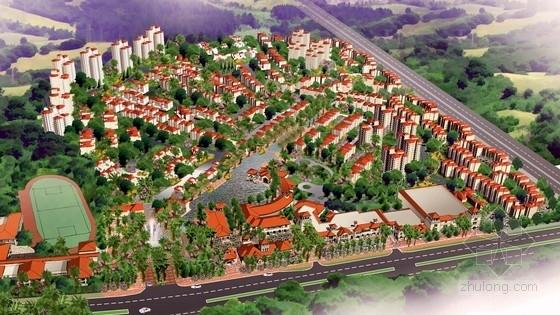 [广东]欧式风格住宅区规划及单体设计方案文本(美国知名建筑事务所)