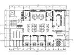 [四川]简约舒适开放大气办公室室内设计施工图