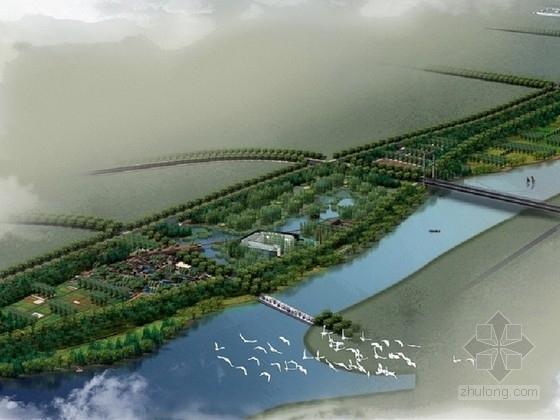 [山东]城市历史自然河道景观带景观工程设计方案(北京著名景观公司)