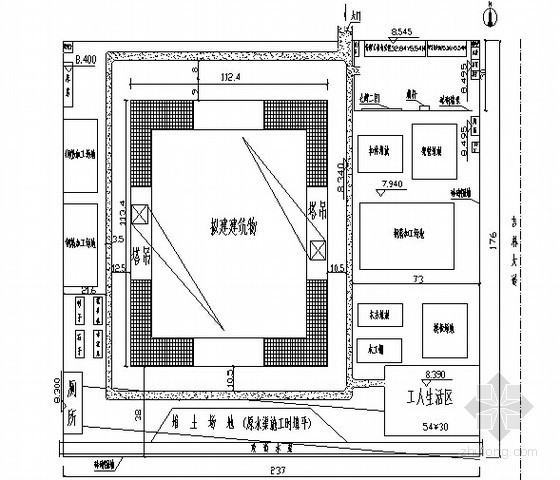 [河北]框架结构博物馆工程施工组织设计(争创鲁班奖)