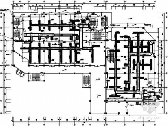 [云南]高层商住楼空调通风设计施工图