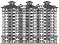 [济宁]某十一层三连板欧式住宅建筑施工图